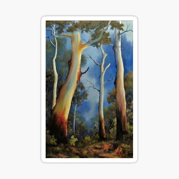 Gum tree view Sticker