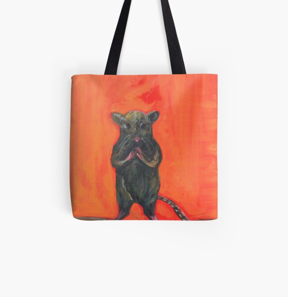 Lockdown Mouse  All Over Print Tote Bag