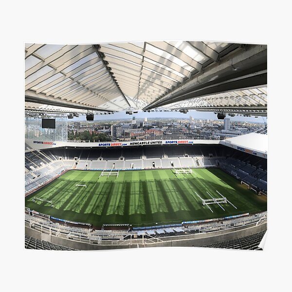 Newcastle United Football Club Photography Poster