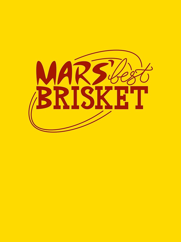 Mars' Best Brisket Official Crew Member (Condiments) by thponders