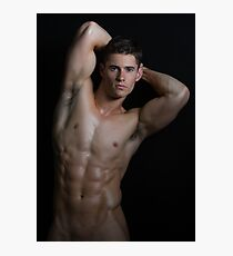 Perfect abs and torso Photographic Print