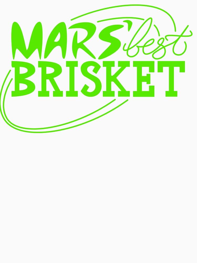 Mars' Best Brisket Official Crew Member (Black) by thponders