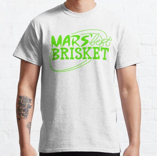 Mars' Best Brisket Official Crew Member (Black) Classic T-Shirt