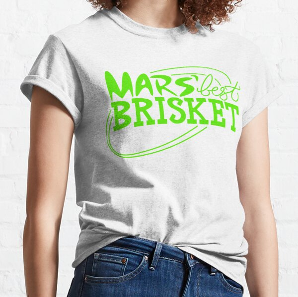 Mars' Best Brisket Official Crew Member (Black) Classic T-Shirt