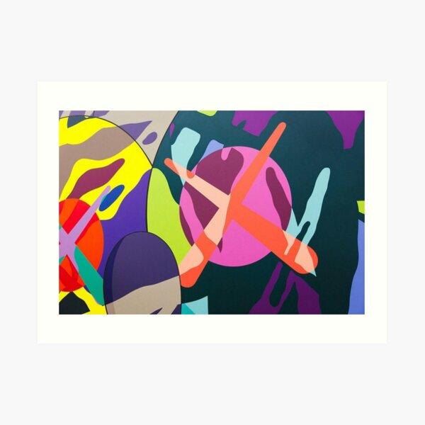 arte en lienzo colorido y fresco para habitaciones de adolescentes Lámina artística