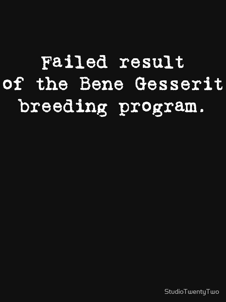 Failed Bene Gesserit by StudioTwentyTwo