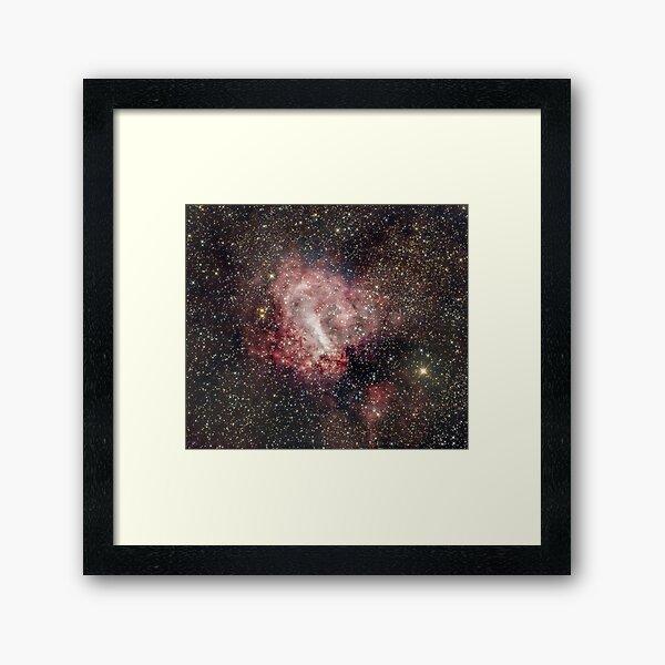 M17 (Swan/Omega Nebula) Framed Art Print
