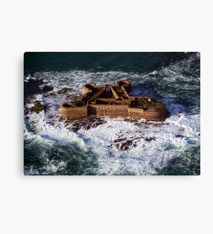 Huge Seas Canvas Print