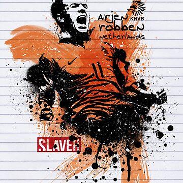 SLAVER Arjen Robben by bukhariridhwan