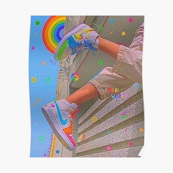y2k sneakers aesthetic Poster