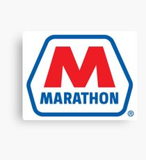 MARATHON LUBRICANT OIL RACING Canvas Print