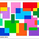 COLOURED SURFACES DISTRIBUTION by RainbowArt