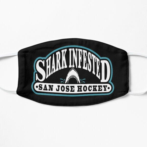 Shark Infested San Jose Hockey Flat Mask