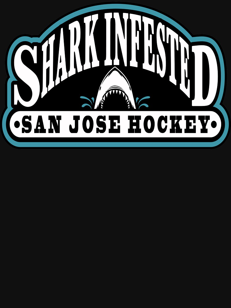 Shark Infested San Jose Hockey by OrganicGraphic