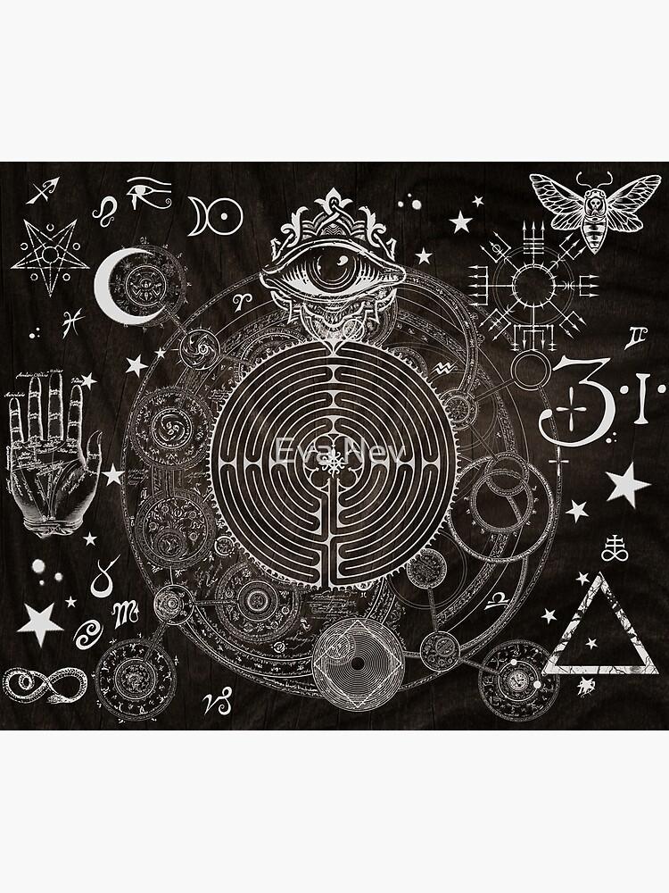 Magic Symbols for a Alchemist Dreamer by 3vaN