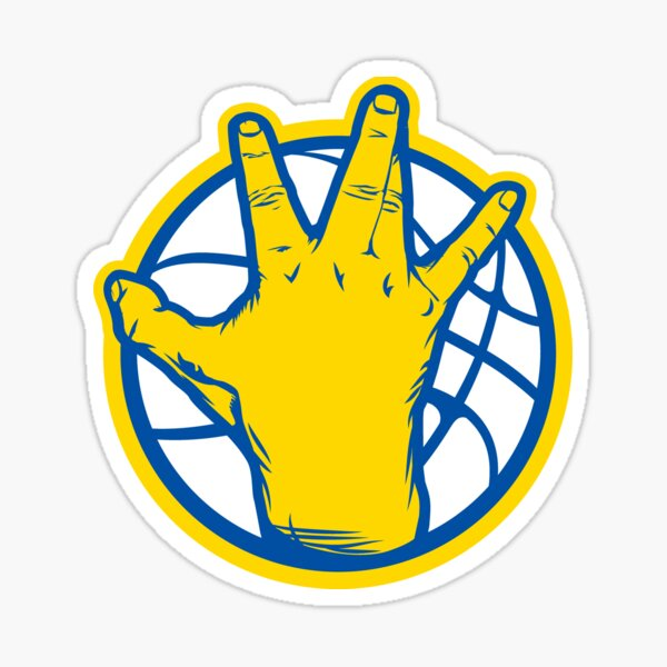 Golden State Warriors West Coast Sticker