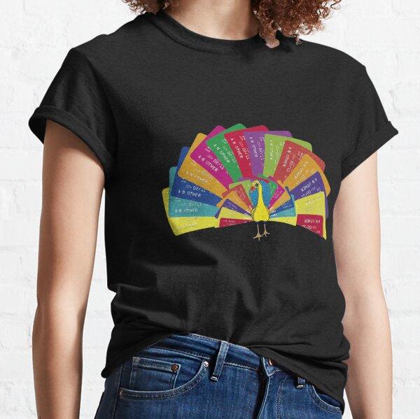 PAVO REAL MULTICOLOR Camiseta clásica