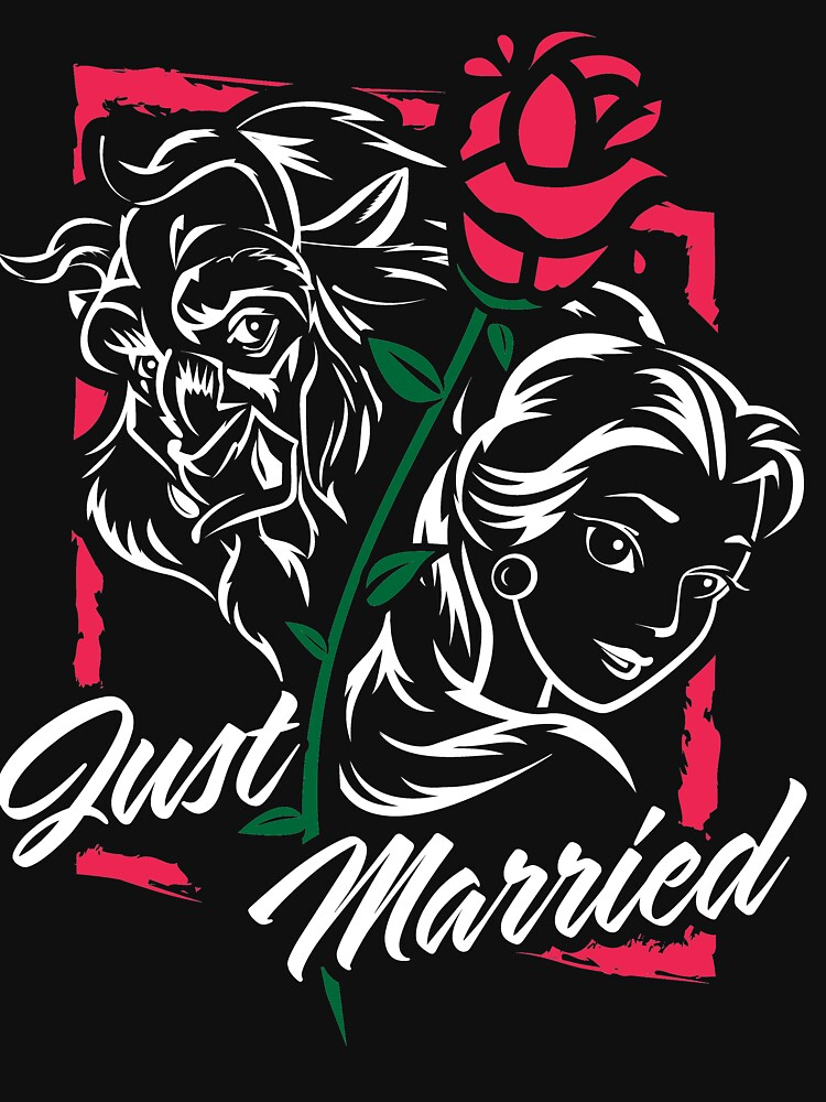 Just Married Happily Ever After by OrganicGraphic
