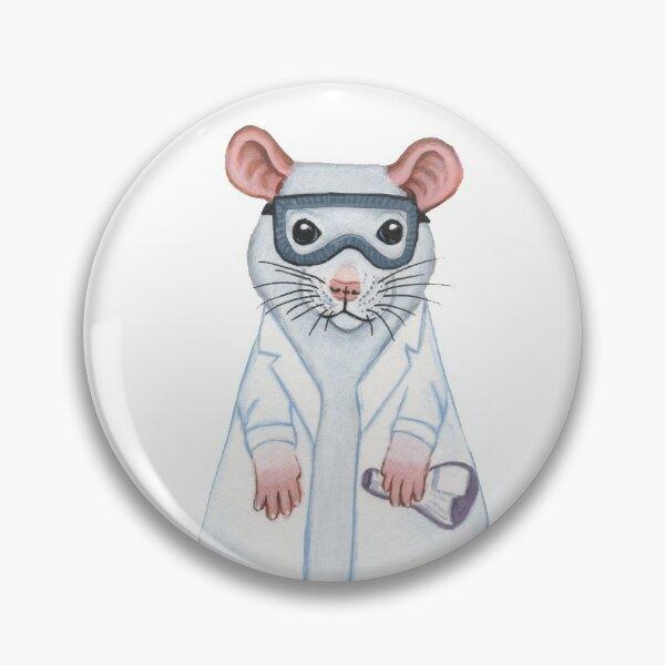Lab Rat Pin