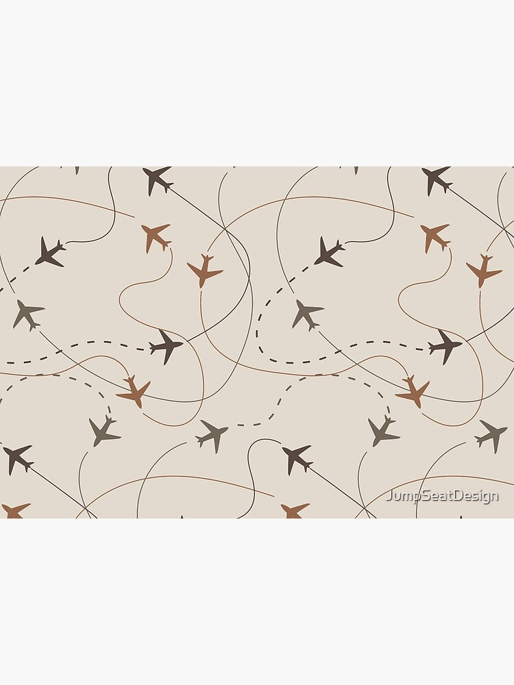 Busy Airspace - Light Natural Tones by JumpSeatDesign