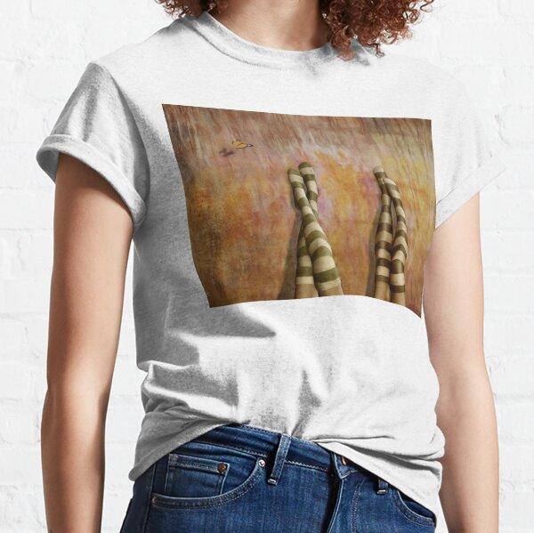 Girl Talk * Striped Socks Classic T-Shirt