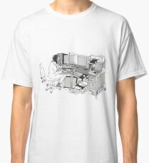 COMPUTER OFFICE WORKER Classic T-Shirt