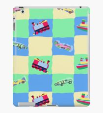 Toy Patchwork iPad Case/Skin