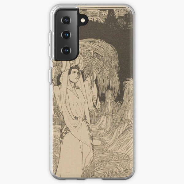 Ruth by Ephraim Moshe Lilien Samsung Galaxy Soft Case