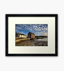 The Old Millhouse Framed Print
