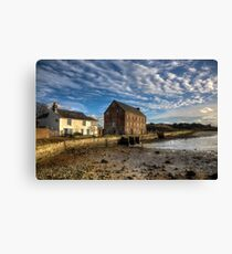 The Old Millhouse Canvas Print