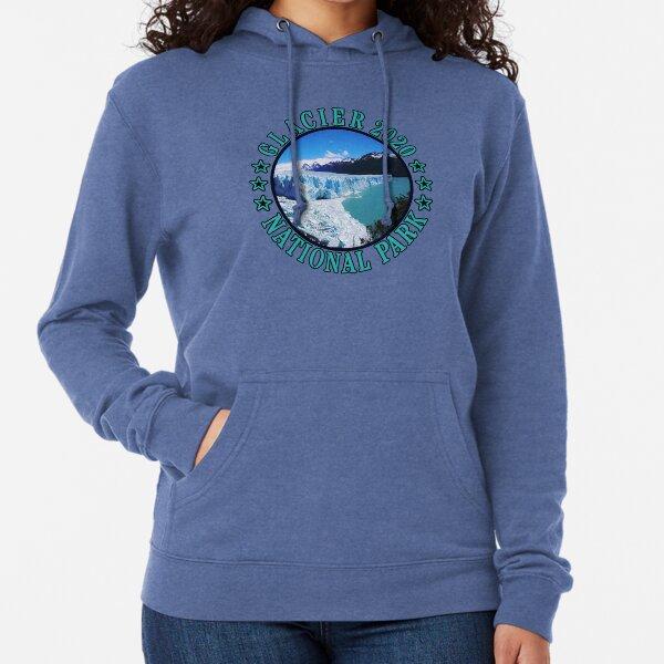 Glacier national park sky  Lightweight Hoodie