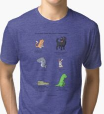 Animal Resolutions Tri-blend T-Shirt