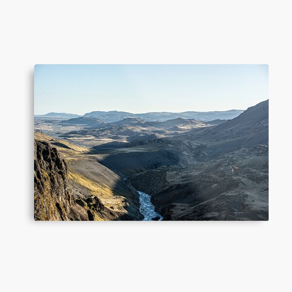 Over the mountains Metal Print