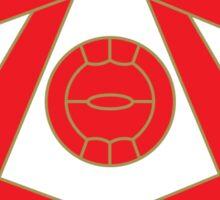 Arsenal Retro Sticker