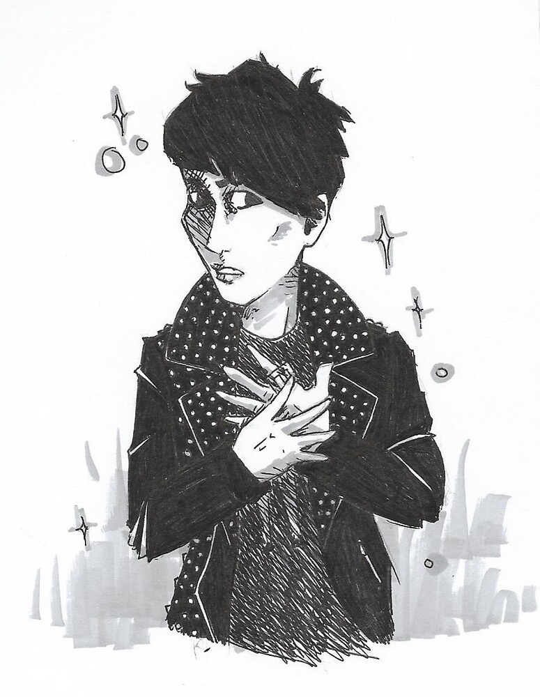 kyung freeze block b by Hayley Evans