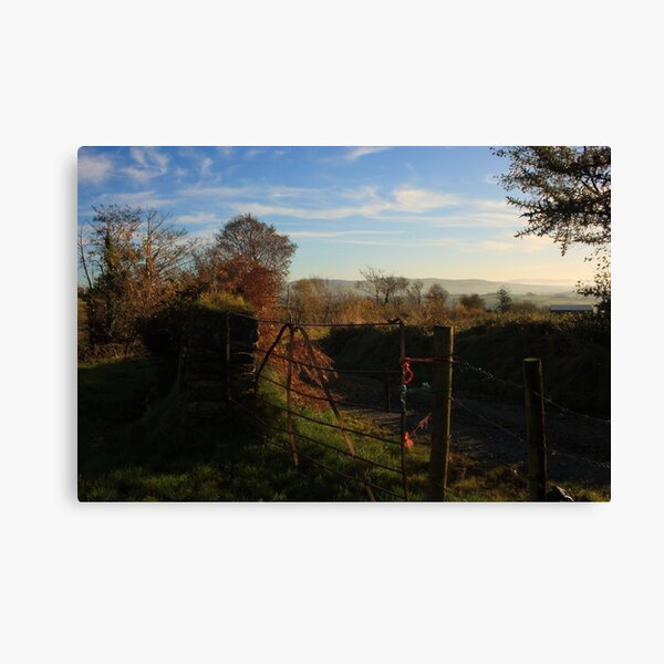 Gateway To Croaghan Hill Canvas Print