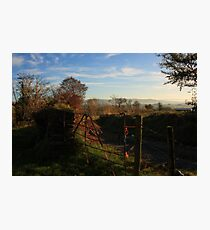 Gateway To Croaghan Hill Photographic Print
