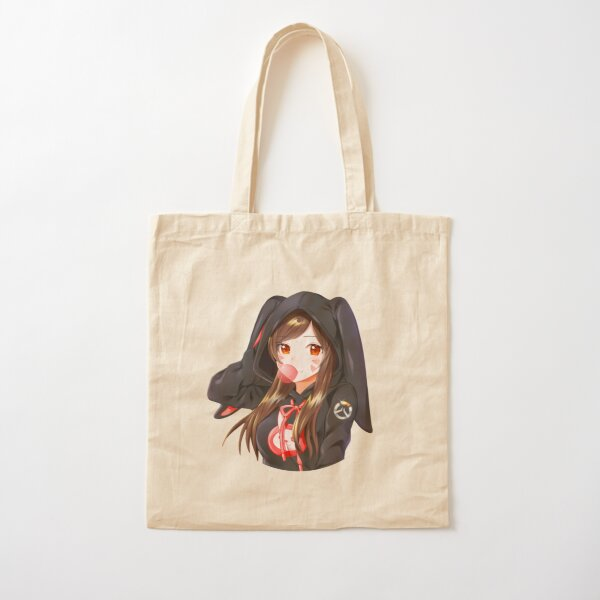 Overwatch anime Cotton Tote Bag