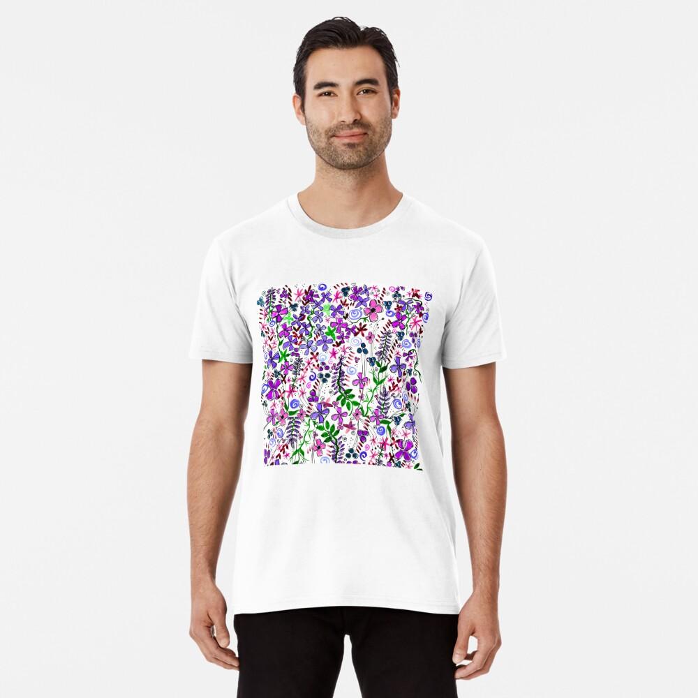 Pixel Dance Purple Premium T-Shirt