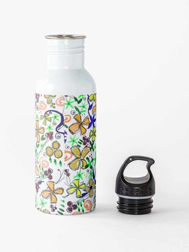 Alternate view of Pixel Dance Peach Water Bottle