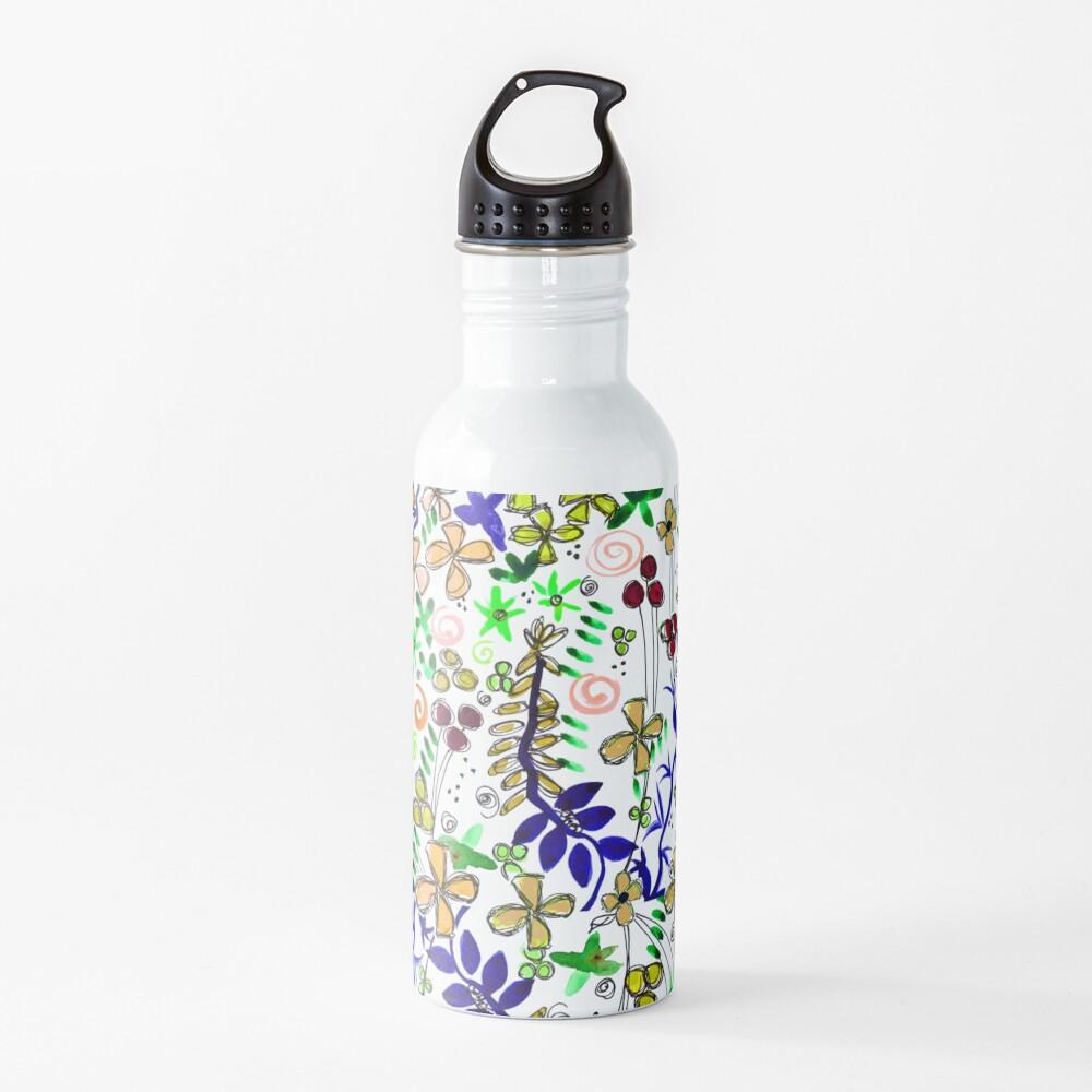 Pixel Dance Peach Water Bottle