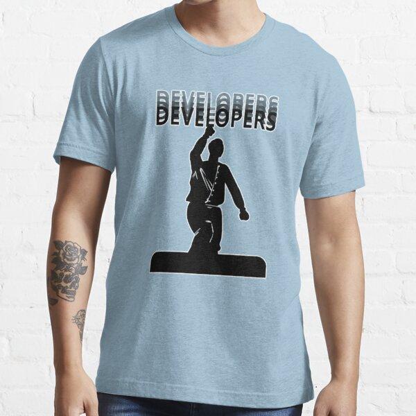 DEVELOPERS! DEVELOPERS! DEVELOPERS! DEVELOPERS! (Ballmer) Essential T-Shirt