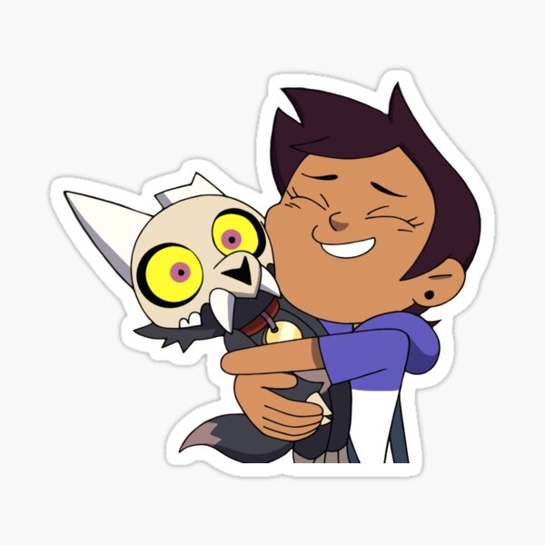 Luz And King Sticker