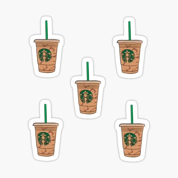 SB Iced Coffee Mini Stickers Sticker