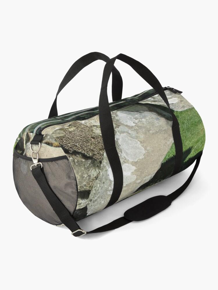 Alternate view of M.I. #78 |☼| Rocks And Bricks - Shot 1 (Hadrian's Wall) Duffle Bag