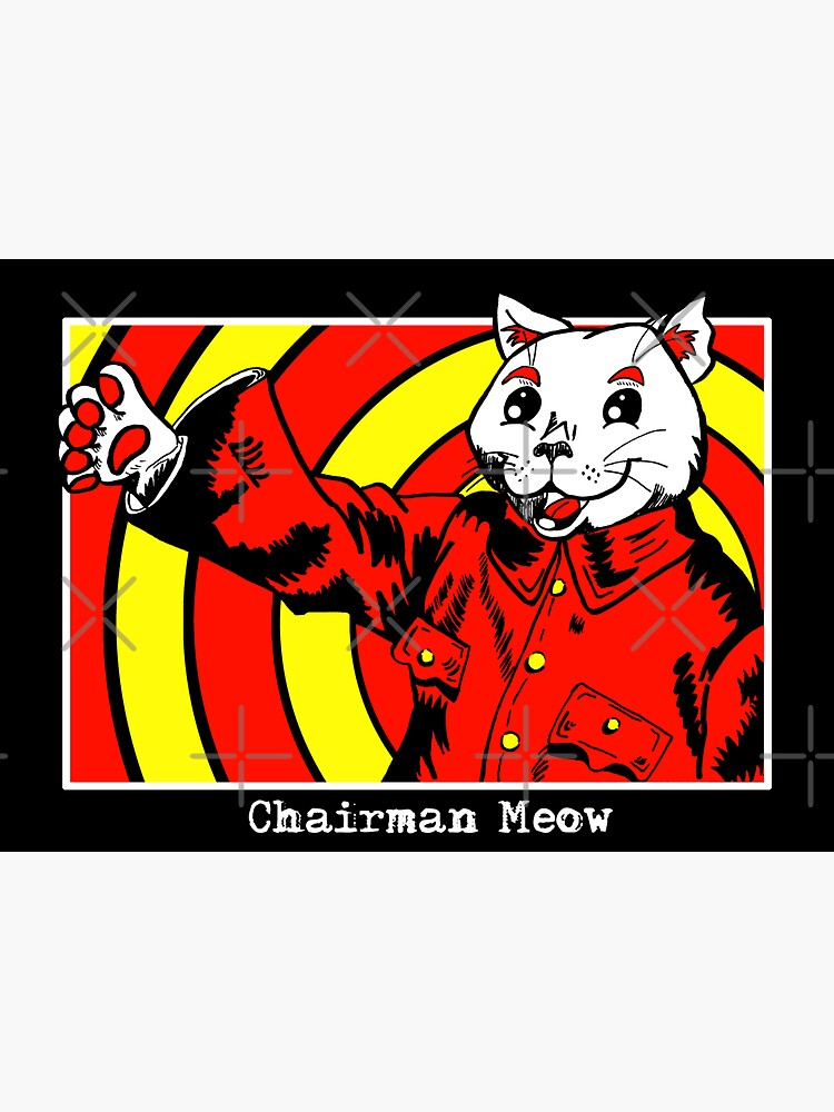 Chairman Meow by BlueDragon7