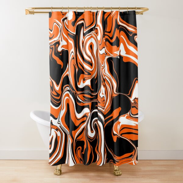Tiger Slick Shower Curtain