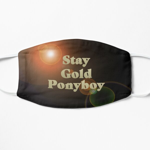 Ponyboy Face Masks Redbubble Get all the details, meaning, context, and even a pretentious factor for good stay golden lucky blue smith summary stay golden ponyboy tattoo amigo+brothers+questions+and+answers star+gold+live+hd. redbubble