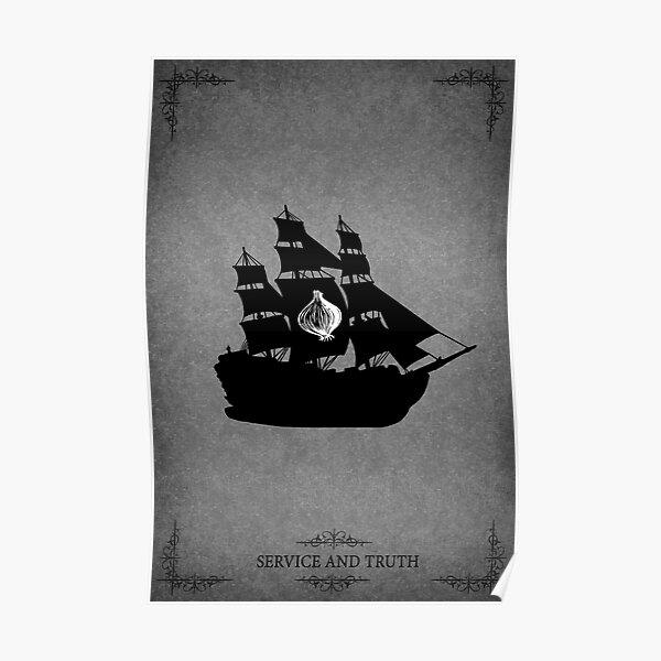 House Seaworth Minimalist Poster
