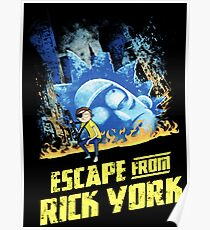 Rick and Morty Escape From Rick York Poster